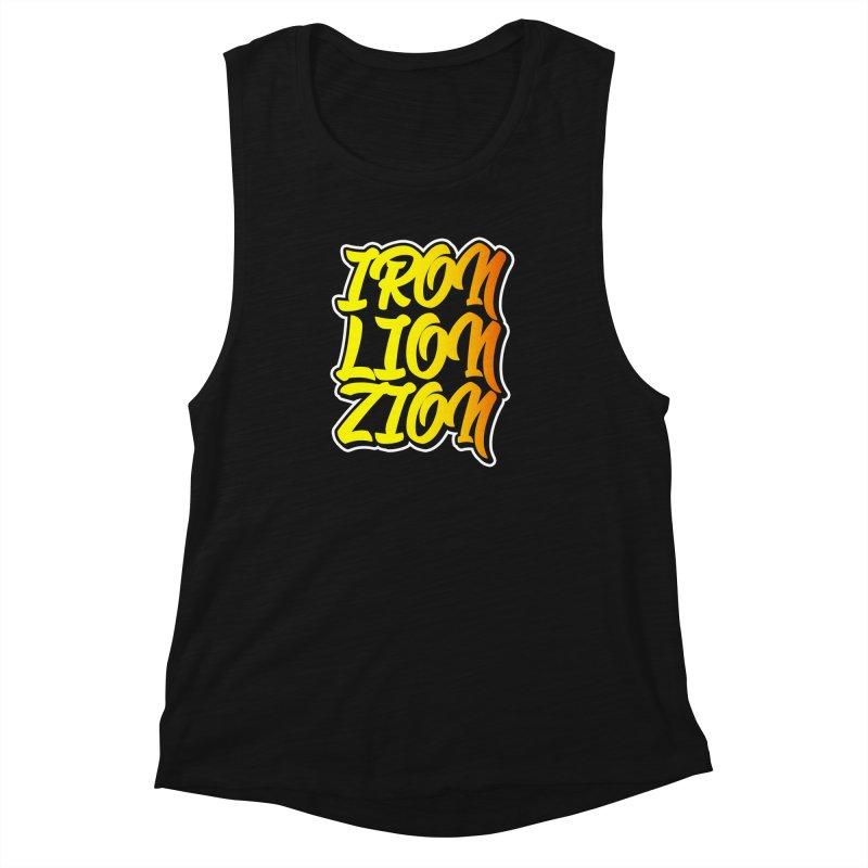 Iron Lion Zion Women's Muscle Tank by Rasta University Shop