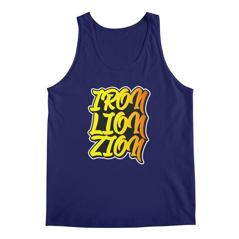Iron Lion Zion Men's Tank by Rasta University Shop