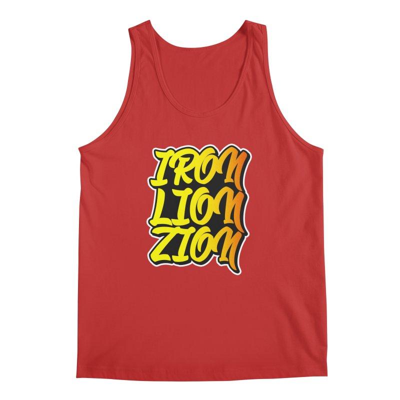 Iron Lion Zion Men's Regular Tank by Rasta University Shop
