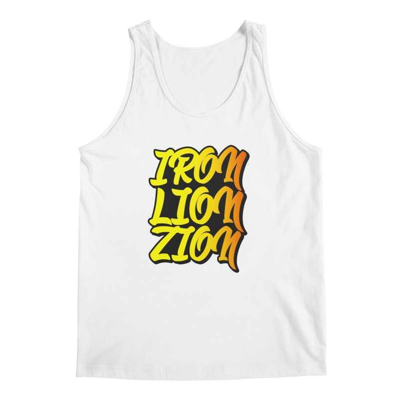 Iron Lion Zion Men's Regular Tank by Rasta University Shop