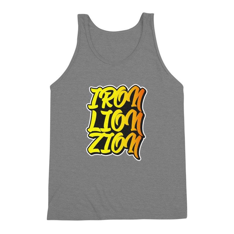 Iron Lion Zion Men's Triblend Tank by Rasta University Shop