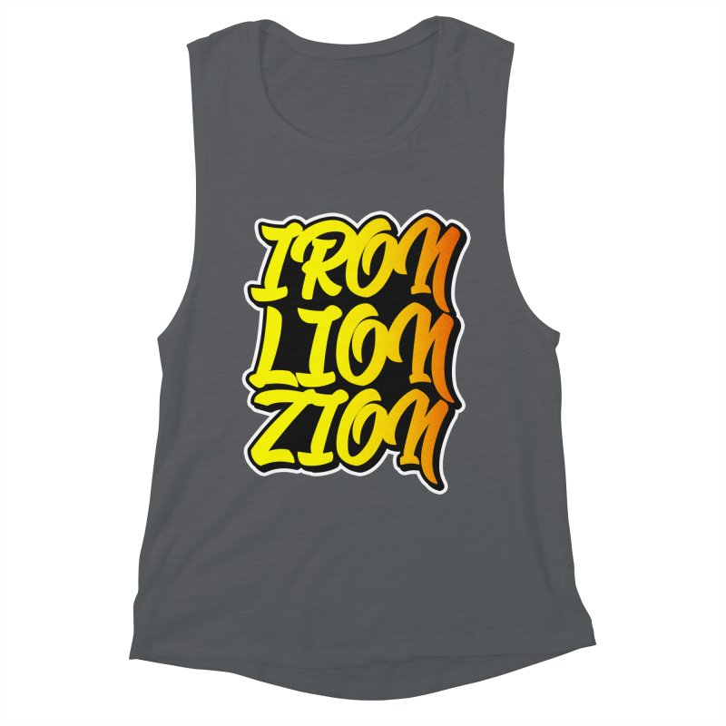 Iron Lion Zion Women's Muscle Tank by Rasta University Shop