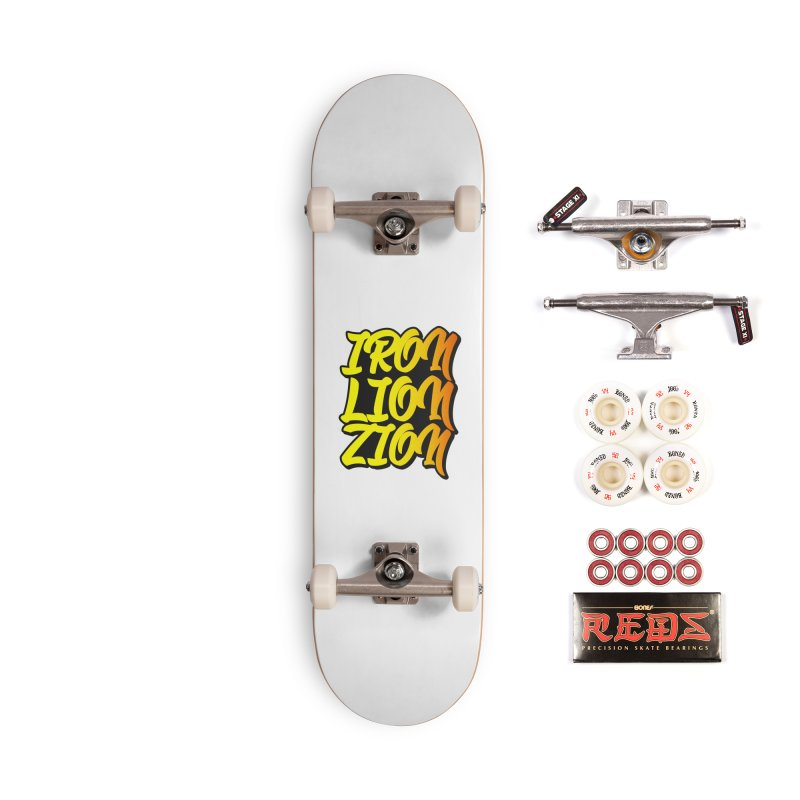 Iron Lion Zion Accessories Complete - Pro Skateboard by Rasta University Shop