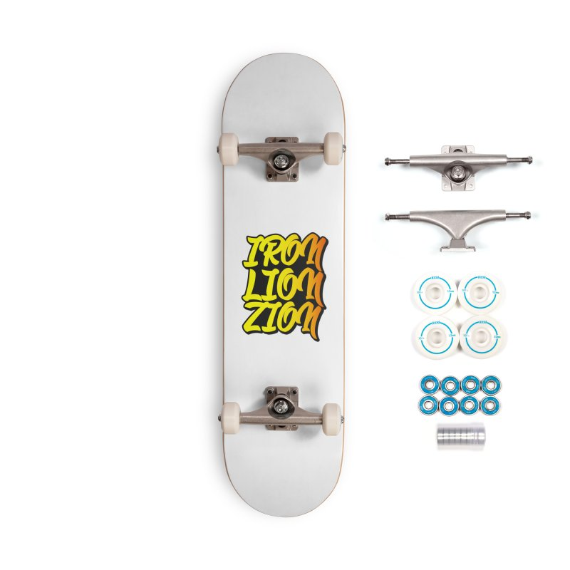 Iron Lion Zion Accessories Complete - Basic Skateboard by Rasta University Shop
