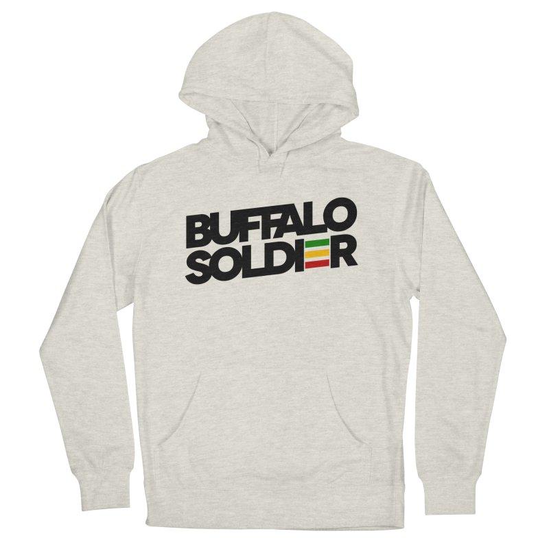 Buffalo Soldier (Dark) Women's Pullover Hoody by Rasta University Shop