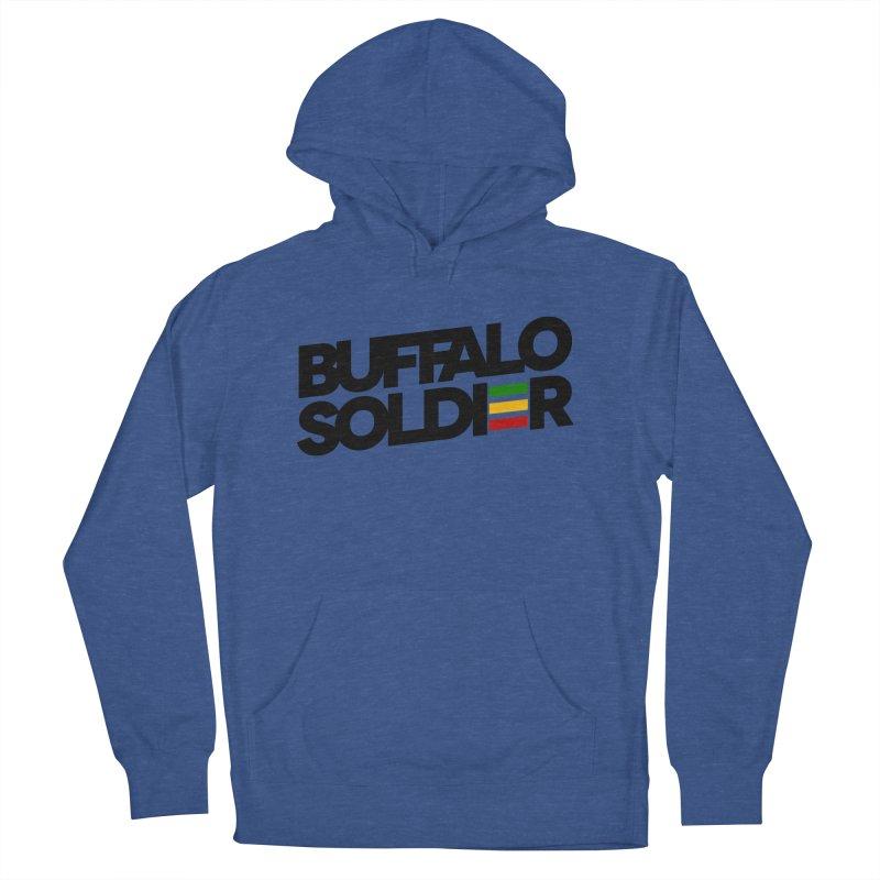 Buffalo Soldier (Dark) Men's Pullover Hoody by Rasta University Shop