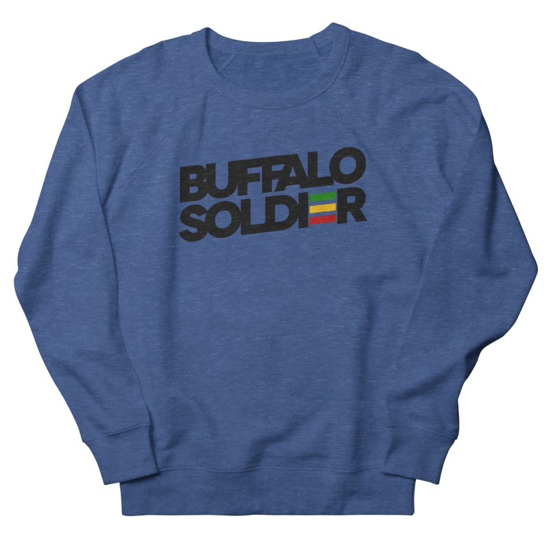 Buffalo Soldier (Dark) Men's Sweatshirt by Rasta University Shop