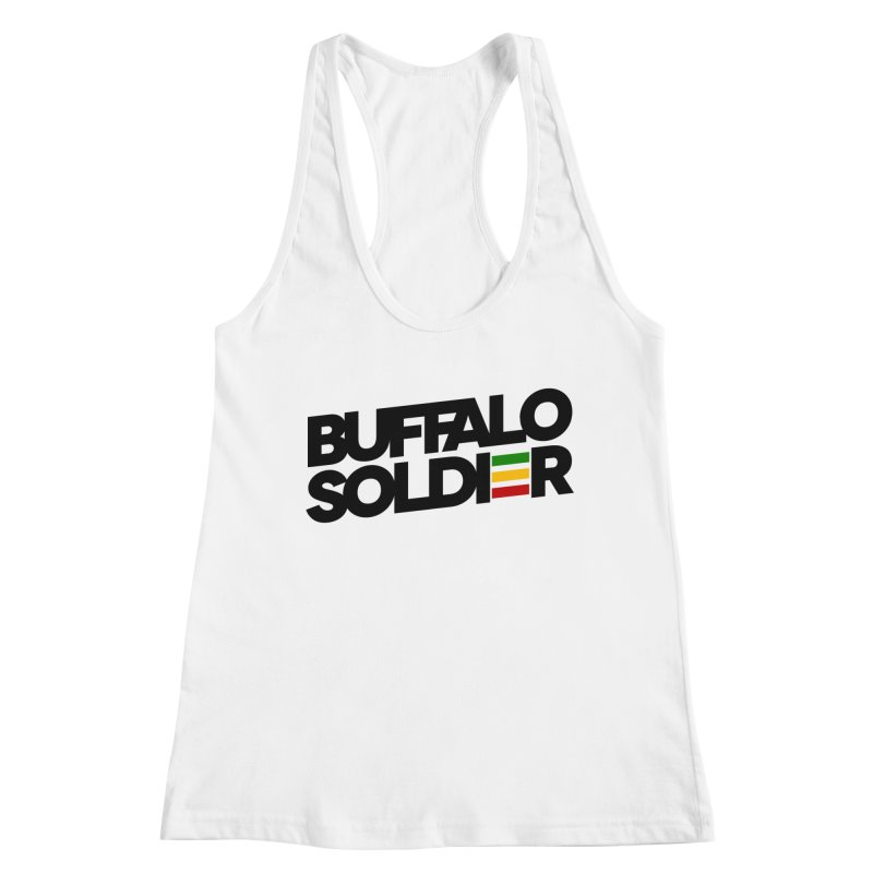 Buffalo Soldier (Dark) Women's Tank by Rasta University Shop