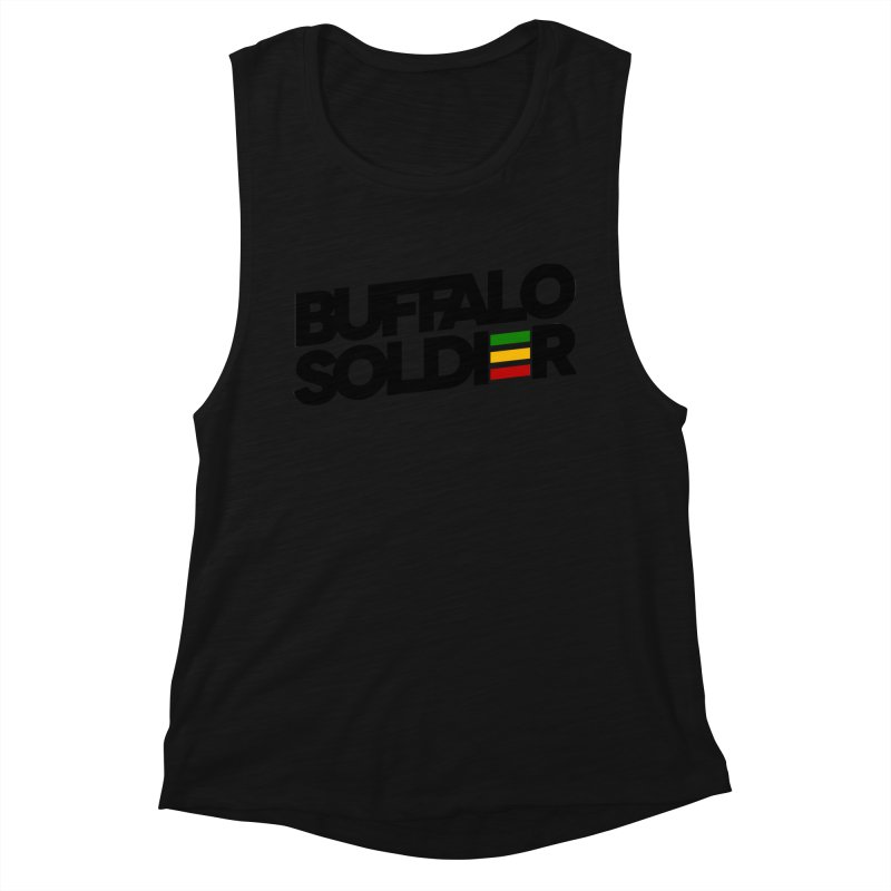 Buffalo Soldier (Dark) Women's Tank by Rasta University Shop