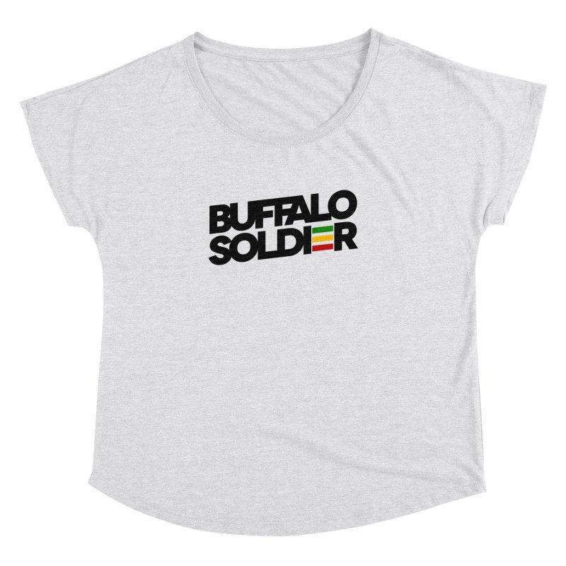 Buffalo Soldier (Dark) Women's Dolman by Rasta University Shop