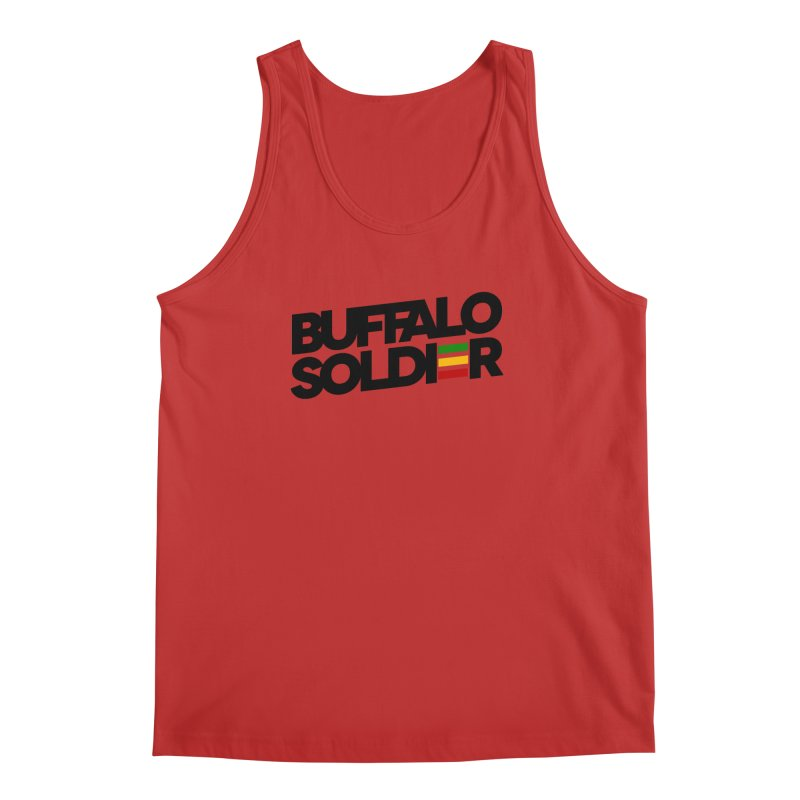 Buffalo Soldier (Dark) Men's Regular Tank by Rasta University Shop