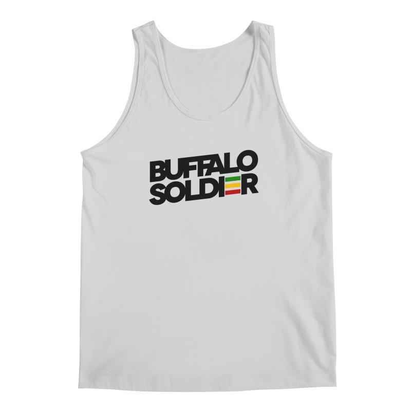 Buffalo Soldier (Dark) Men's Tank by Rasta University Shop