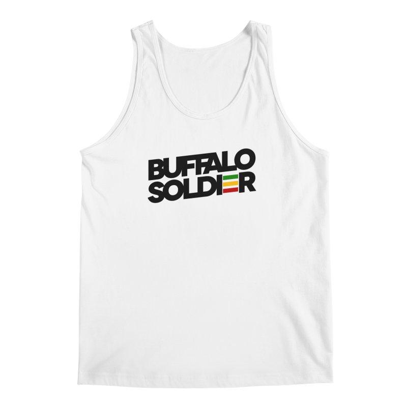 Buffalo Soldier (Dark) Men's Regular Tank by Rasta University Shop