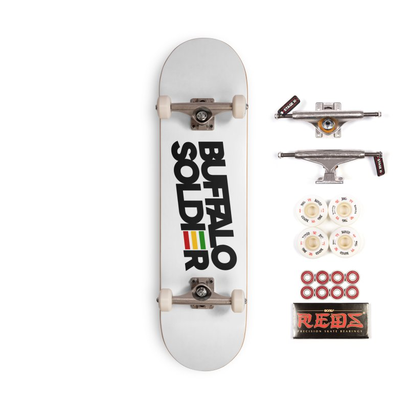 Buffalo Soldier (Dark) Accessories Complete - Pro Skateboard by Rasta University Shop