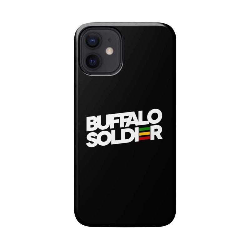 Buffalo Soldier (Light) Accessories Phone Case by Rasta University Shop