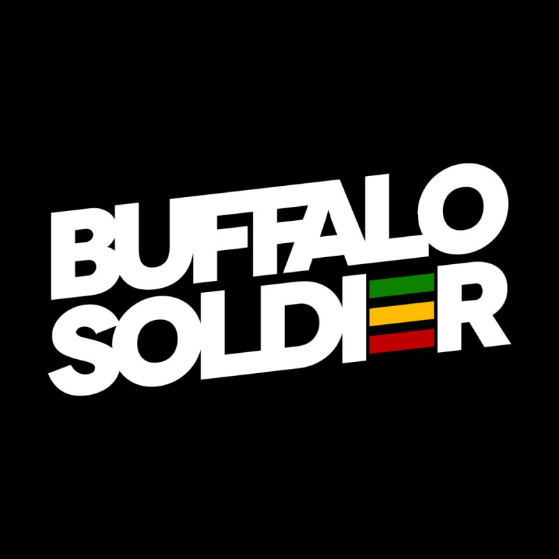 Buffalo Soldier (Light) Kids Toddler Longsleeve T-Shirt by Rasta University Shop