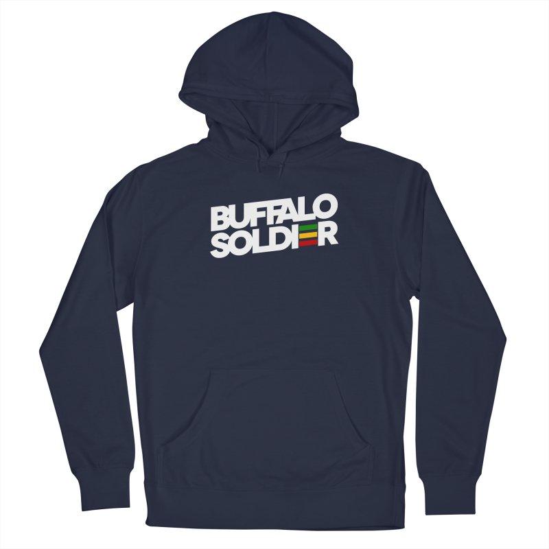 Buffalo Soldier (Light) Men's Pullover Hoody by Rasta University Shop