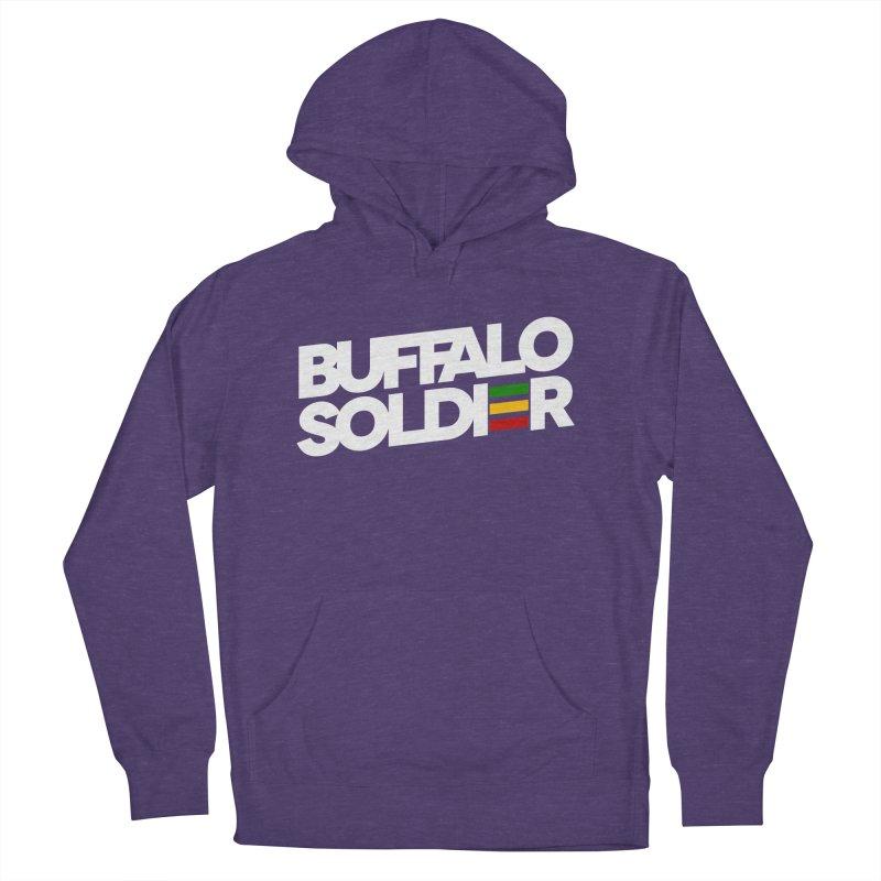 Buffalo Soldier (Light) Women's Pullover Hoody by Rasta University Shop