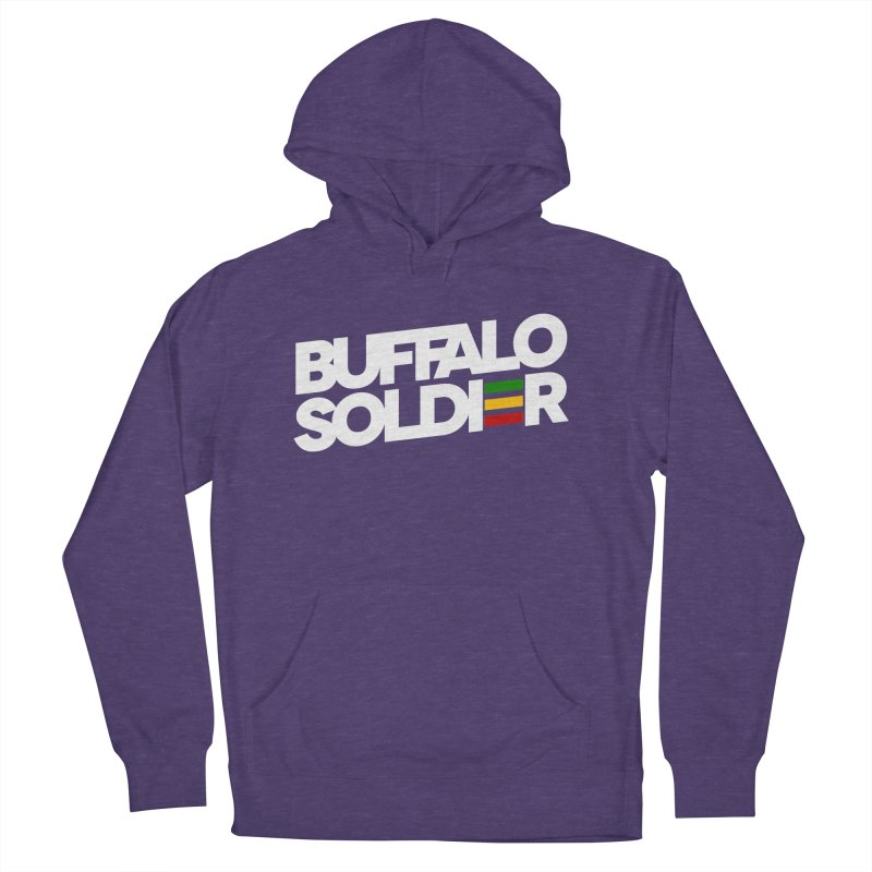 Buffalo Soldier (Light) Men's Pullover Hoody by Rasta University Shop
