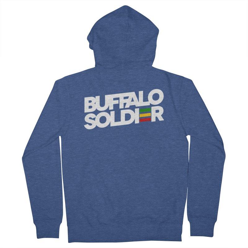 Buffalo Soldier (Light) Women's Zip-Up Hoody by Rasta University Shop