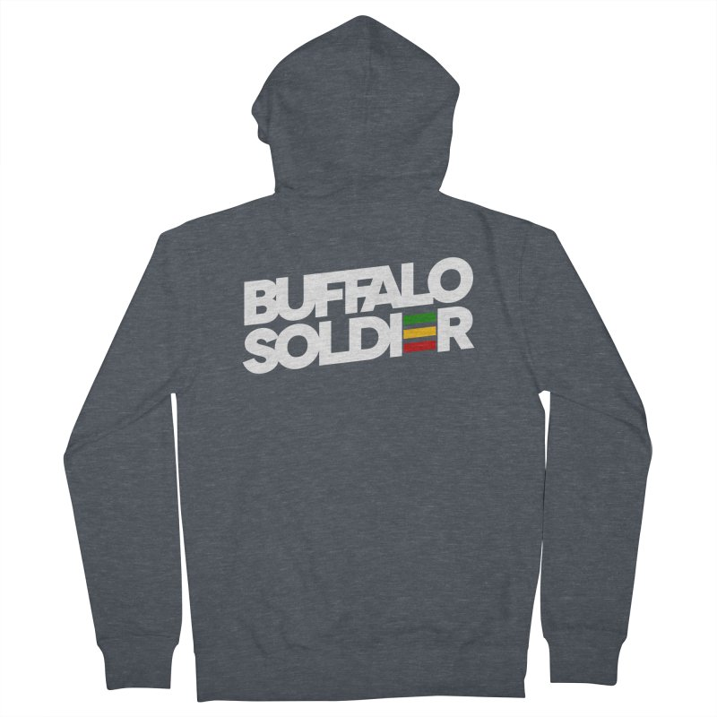Buffalo Soldier (Light) Women's Zip-Up Hoody by Rasta University Shop