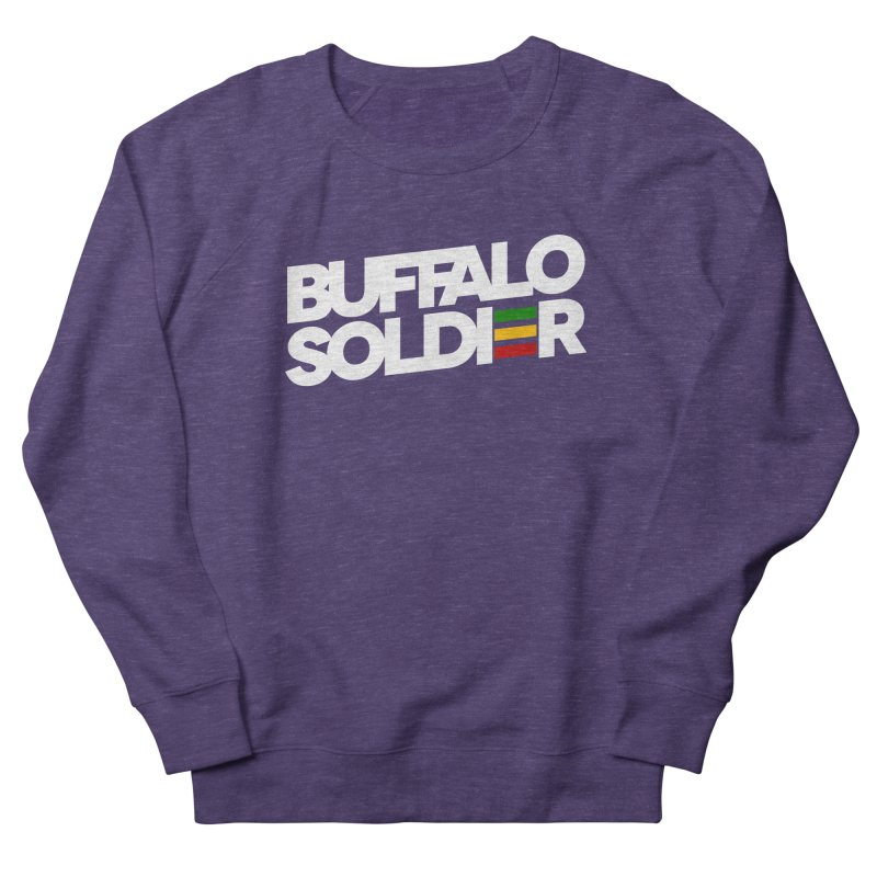 Buffalo Soldier (Light) Women's French Terry Sweatshirt by Rasta University Shop