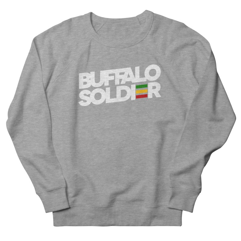 Buffalo Soldier (Light) Women's French Terry Sweatshirt by Rasta University Shop
