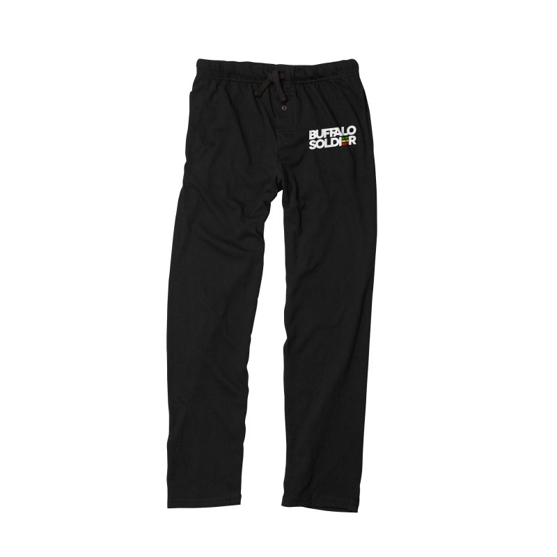 Buffalo Soldier (Light) Men's Lounge Pants by Rasta University Shop
