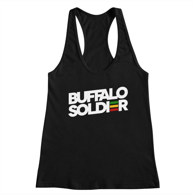 Buffalo Soldier (Light) Women's Tank by Rasta University Shop