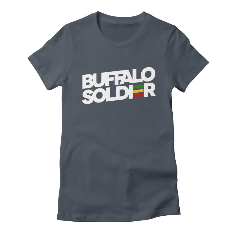 Buffalo Soldier (Light) Women's T-Shirt by Rasta University Shop