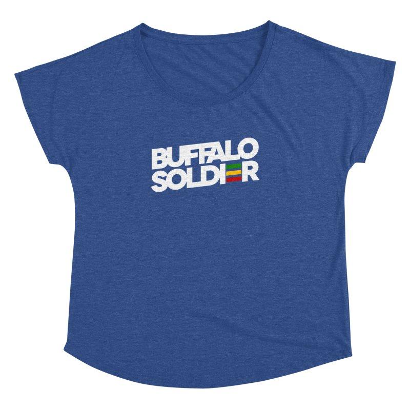 Buffalo Soldier (Light) Women's Dolman by Rasta University Shop