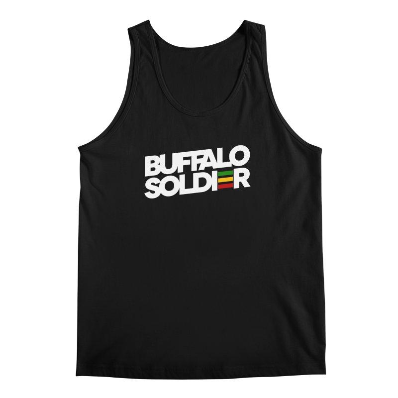 Buffalo Soldier (Light) Men's Tank by Rasta University Shop