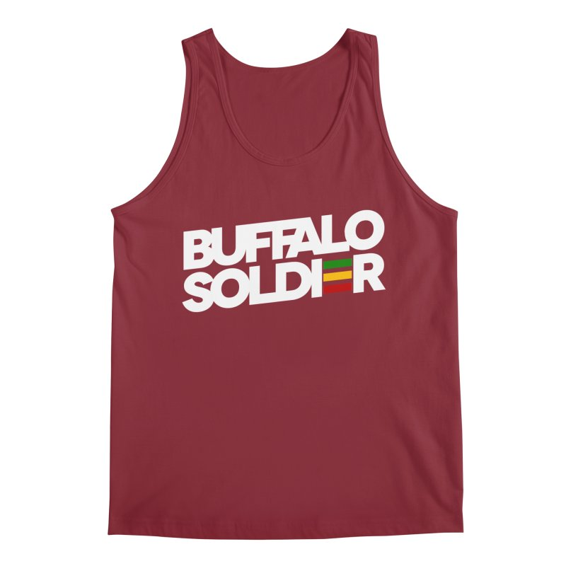 Buffalo Soldier (Light) Men's Regular Tank by Rasta University Shop