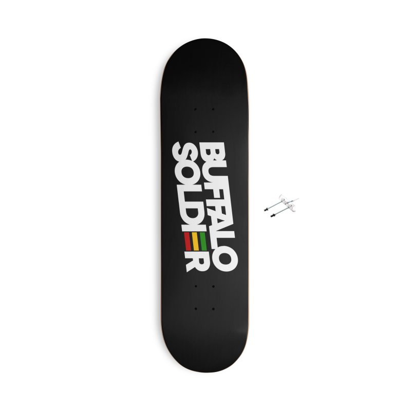 Buffalo Soldier (Light) Accessories With Hanging Hardware Skateboard by Rasta University Shop