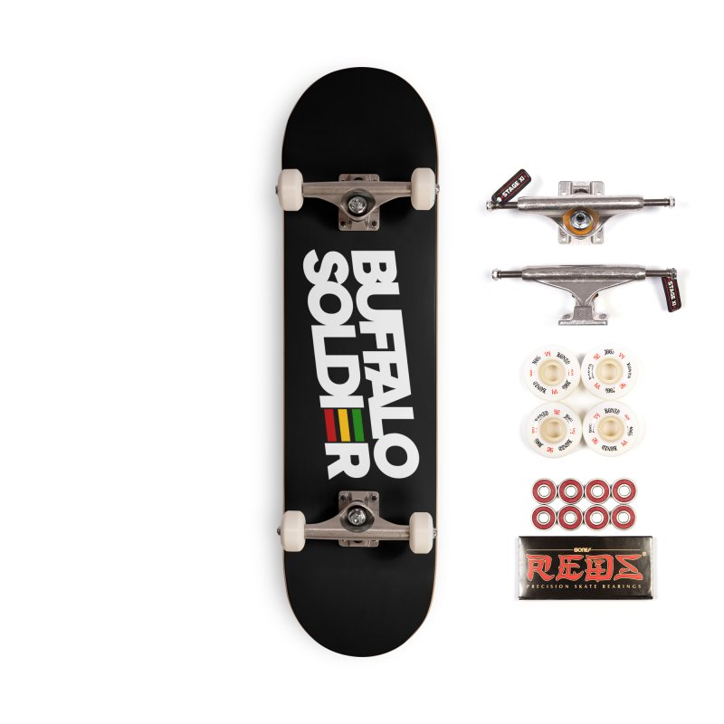 Buffalo Soldier (Light) Accessories Complete - Pro Skateboard by Rasta University Shop