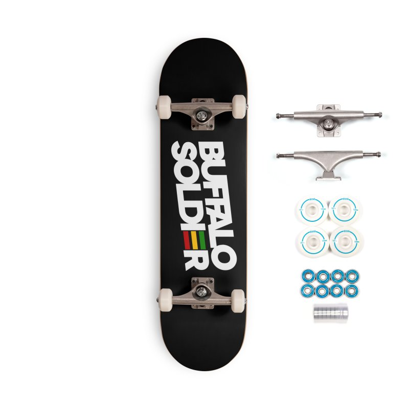 Buffalo Soldier (Light) Accessories Complete - Basic Skateboard by Rasta University Shop