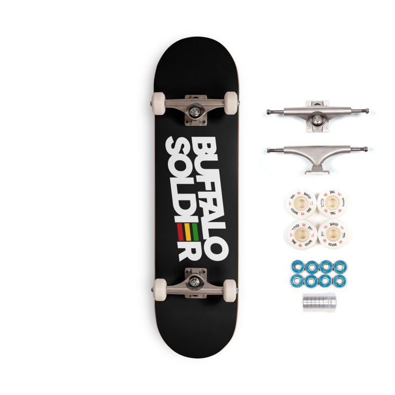 Buffalo Soldier (Light) Accessories Complete - Premium Skateboard by Rasta University Shop