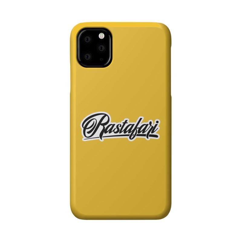 Rastafari (Dark) Accessories Phone Case by Rasta University Shop