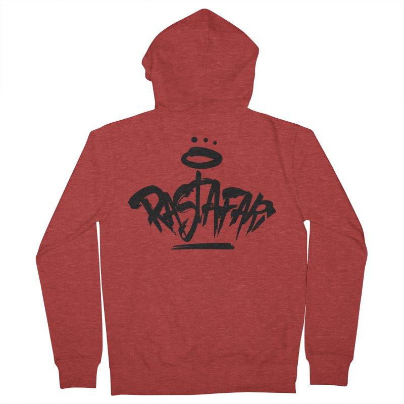 Rastafari (Dark) Women's French Terry Zip-Up Hoody by Rasta University Shop