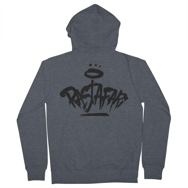 Rastafari (Dark) Men's Zip-Up Hoody by Rasta University Shop