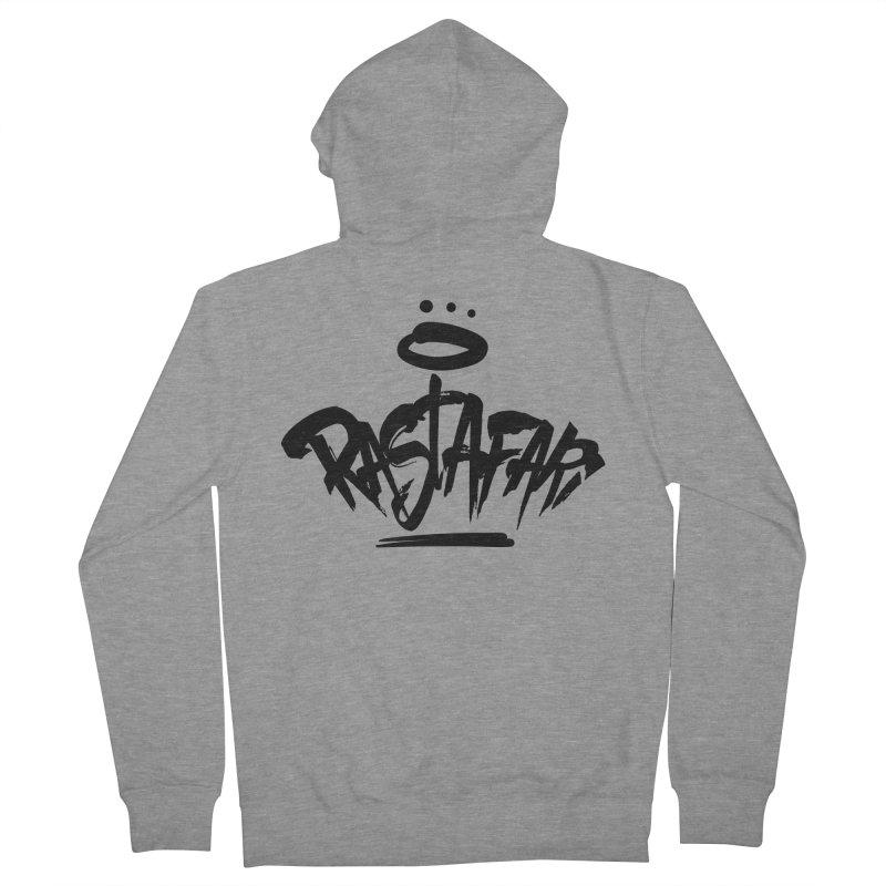 Rastafari (Dark) Men's French Terry Zip-Up Hoody by Rasta University Shop