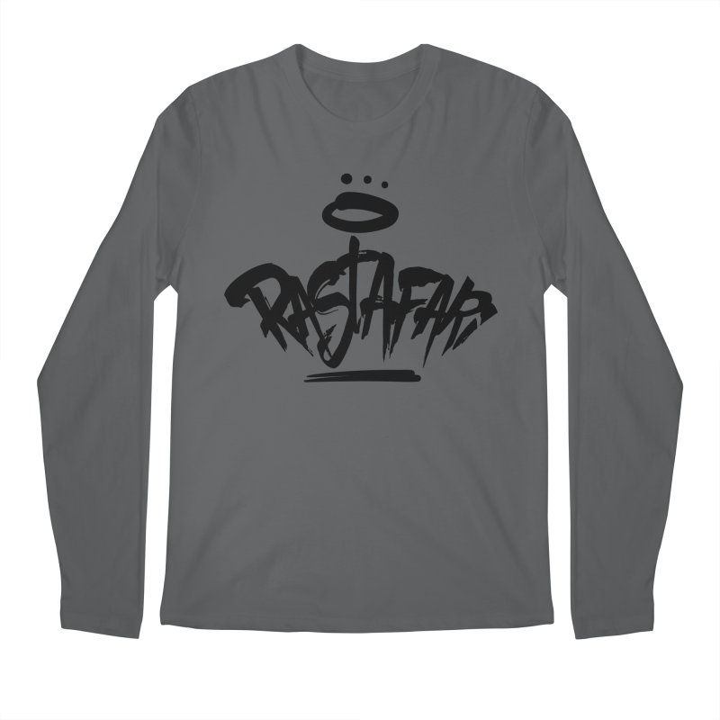 Rastafari (Dark) Men's Regular Longsleeve T-Shirt by Rasta University Shop