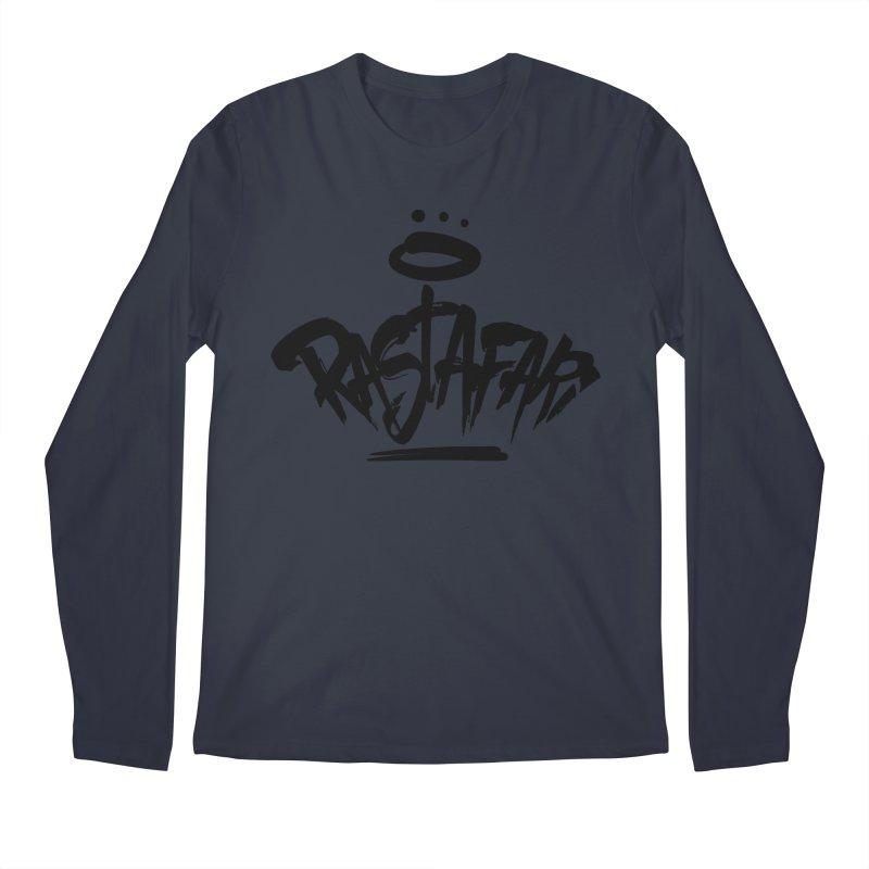 Rastafari (Dark) Men's Regular Longsleeve T-Shirt by Rasta University Shop