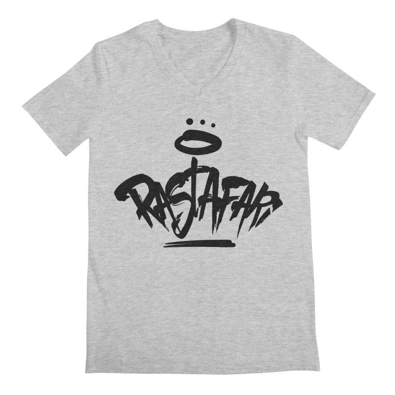 Rastafari (Dark) Men's V-Neck by Rasta University Shop