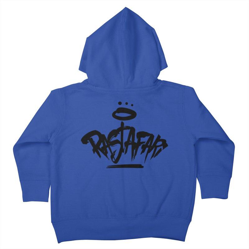 Rastafari (Dark) Kids Toddler Zip-Up Hoody by Rasta University Shop