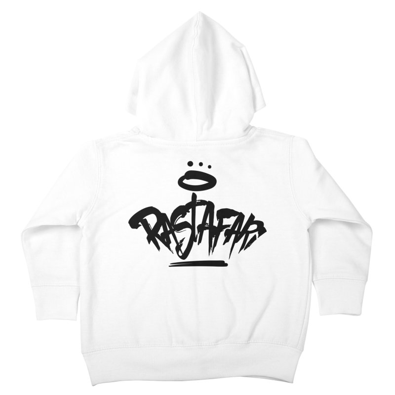 Rastafari (Dark) Kids Toddler Zip-Up Hoody by Rasta University Shop