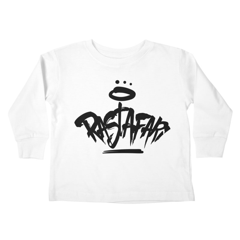 Rastafari (Dark) Kids Toddler Longsleeve T-Shirt by Rasta University Shop