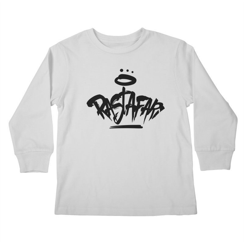 Rastafari (Dark) Kids Longsleeve T-Shirt by Rasta University Shop