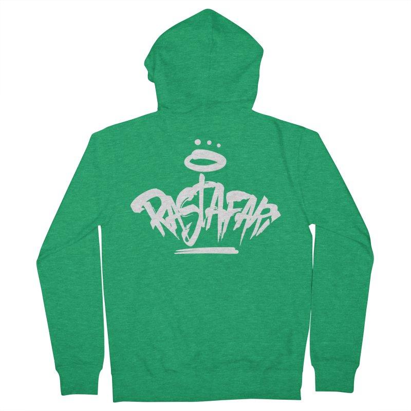 Rastafari (Light) Men's French Terry Zip-Up Hoody by Rasta University Shop