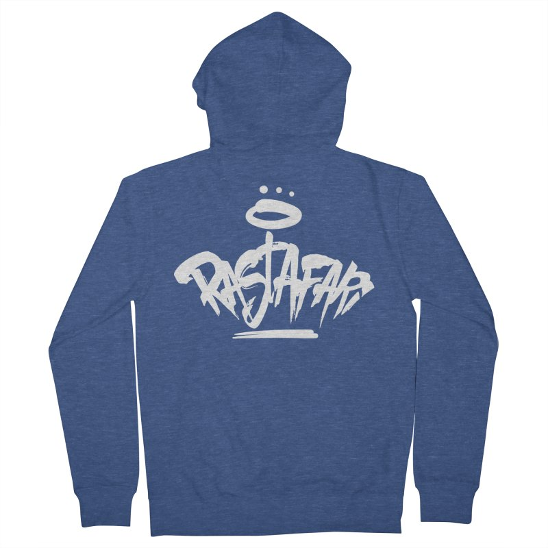 Rastafari (Light) Men's French Terry Zip-Up Hoody by Rasta University Shop